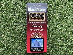 Cigarrilhas BlackStone Cereja - Petaca com 5