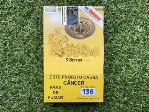 Charuto Cubano Jose L. Piedra Brevas - Petaca Com 5