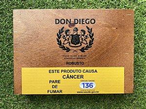 Charuto Don Diego Euro Robusto - Caixa com 10