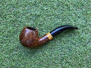 Cachimbo Italiano Molina Bent Apple Ring - (Cod249)