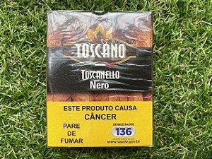 Charuto Toscano Toscanello Nero - Petaca com 5