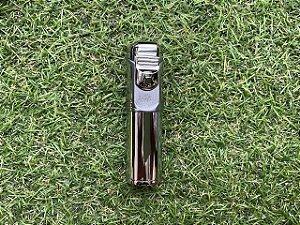 Isqueiro Maçarico Chama Unica APX 11T1 - Cromado