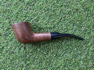 Cachimbo Maestro Briar Semi Bent - Pot Brown COD91