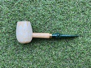 Cachimbo Americano Corn Cob - Emerald Reto