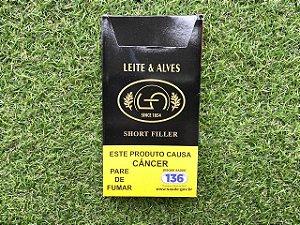 Charuto Leite & Alves Short Filler Corona - Petaca com 5