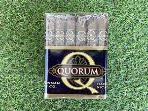 Charuto Quorum Três Petit Corona Bundle Com 30