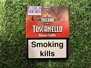 Charuto Toscano Toscanello Rosso Caffe - Petaca com 5