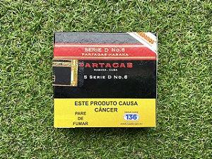 Charuto Cubano Partagas D6 - Petaca com 5