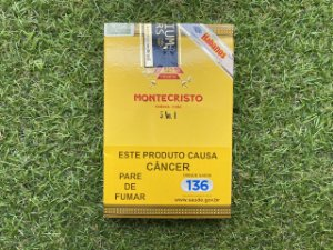 Charuto Cubano Montecristo No. 4 - Petaca c/05