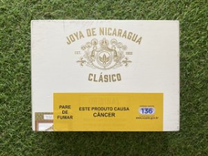 Charuto Joya de Nicaragua Classico Short Robusto Consul - Caixa com 25