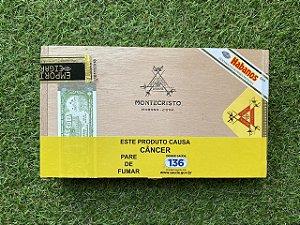 Charuto Montecristo Petit Edmundo - Caixa com 10