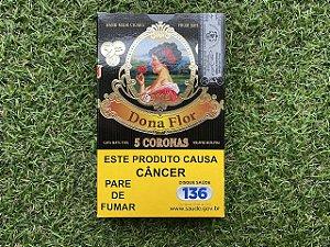 Charuto Dona Flor Corona - Petaca com 5