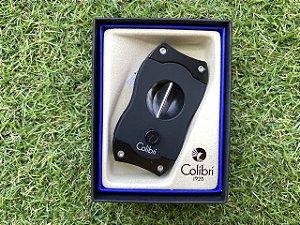 Cortador de Charuto Colibri V-CUT Black & Black