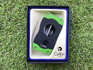 Cortador de Charuto Colibri V-CUT Black & Green