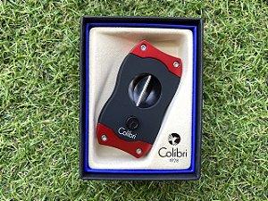 Cortador de Charuto Colibri V-CUT Black & Red