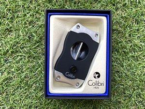 Cortador de Charuto Colibri V-CUT Black & Chrome
