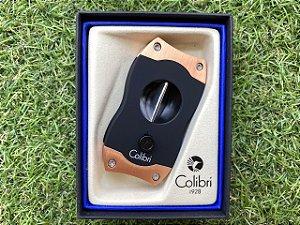 Cortador de Charuto Colibri V-CUT Black & Rose