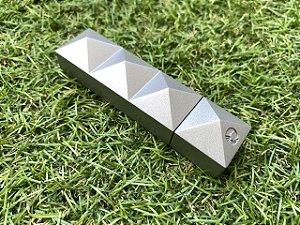 Furador de Charuto Colibri Quasar Punch - Metallic Silver