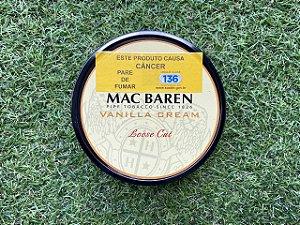 Tabaco para Cachimbo Mac Baren Vanilla Cream - Lata 100g