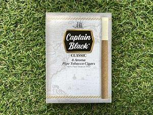 Cigarrilha Captain Black Classic - Caixa com 8