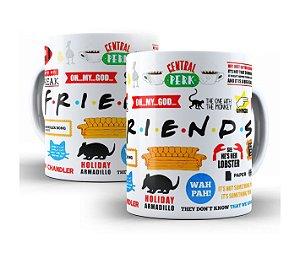 Caneca Friends Séries