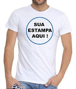 Camiseta Masculina Com Sua Estampa Personalizada