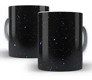 Caneca Estrelas 325 Ml De Porcelana - OFERTA