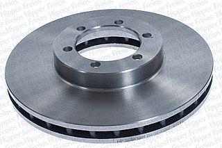 DISCO FREIO DIANTEIRO HIPPER FREIOS KIA BESTA GS 2.7/3.0 2004 EM DIANTE - HF353A
