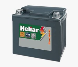 Bateria Moto 5 Amp Heliar Power Sports - Htz6l