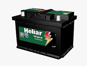 Bateria Carro 70amp Heliar Original Lado Esquerto Caixa Alta - Hg70ne