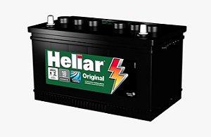 Bateria Carro 75amp Heliar Original Lado Esquerdo - Hg75le