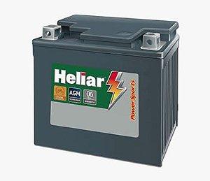 Bateria Moto 6 Amp Heliar Power Sports - Htz7l