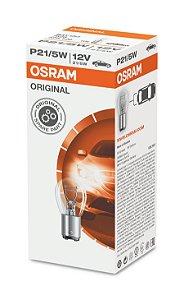 Lâmpada Osram Metal P21/5w 12v Bay15d - 7528