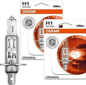Lâmpada Osram Night Breaker Laser H1 12v - 64150nl