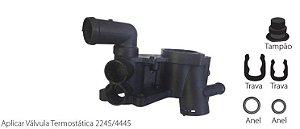 Flange Valvula Termostatica Valclei Vw Polo Sedan 1.4 02/ - Vc173