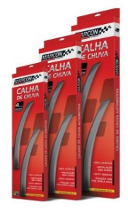 Calha Chuva Marcon Hyundai Hb20 12/ 4 Portas - Hy214