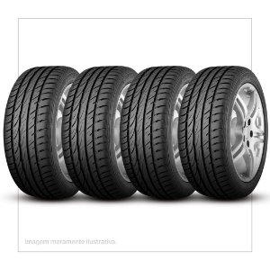 Kit 4 Pneus Continental Barum Aro 15 195/65r15 Brillantis 2 91h - Kit200013