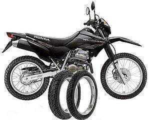 Kit Pneu Moto Xr250 Tornado Dianteiro/traseiro