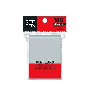 Sleeves Redbox: MINI EURO 44 x 68 mm
