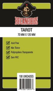 Sleeves Bucaneiros: TAROT 70 x 120 mm