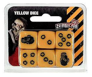 Dados Zombicide Amarelo - Acessorio, Zombicide