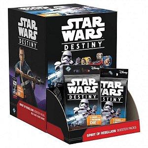 Star Wars: Destiny - Pacotes de Expansão: Espírito da Rebelião (Caixa com 36 unidades)