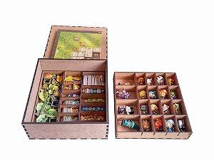 Caixa organizadora para Krosmaster (20 miniaturas)