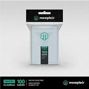 Sleeves MeepleBR: PADRAO 63,5 x 88 mm