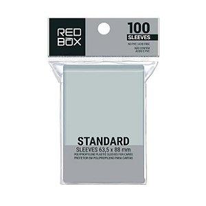 Sleeves Redbox: PADRÃO 63,5 x 88 mm