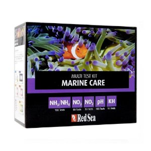 Red Sea Multi Test Kit Marine Care (NH3NH4/NO2/NO3/pH-kH)