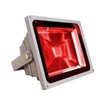 Refletor Led Vermelho Bivolt - IP66 a Prova d´água e poeira