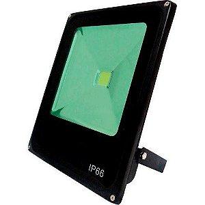 Refletor Led Verde Bivolt IP66