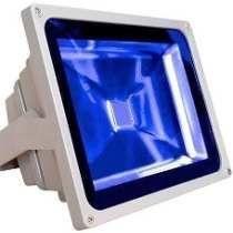 Refletor Led Azul Bivolt - IP65 A  Prova d´água