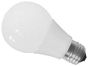 Lâmpada LED Bulbo 7w  A60 E27 Bivolt 3000K Branco Quente